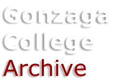 Gonzaga  College Archive